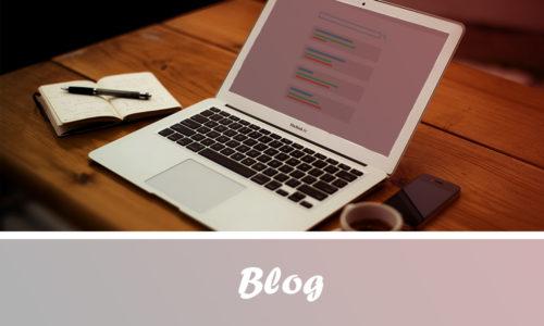 """Lien vers la page """"blog"""""""